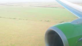 Vliegtuig stock video