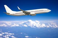Vliegtuig stock afbeelding