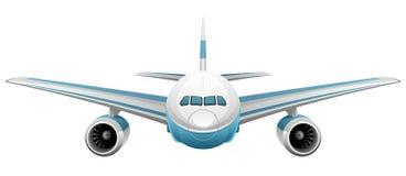 Vliegtuig royalty-vrije illustratie