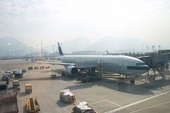 Vliegtuig 2 Royalty-vrije Stock Afbeeldingen