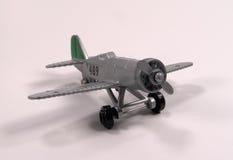 Vliegtuig 2 van het stuk speelgoed royalty-vrije stock afbeeldingen