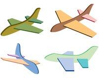 Vliegtuig. stock illustratie