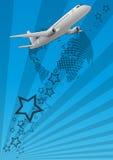 Vliegtuig stock illustratie