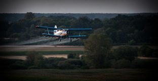Vliegtuig 2 Stock Foto