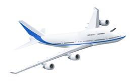 Vliegtuig 747 Royalty-vrije Stock Foto