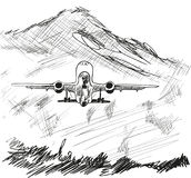 Vliegtuig Stock Afbeeldingen