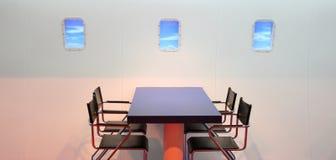 Vliegtuig-als decoratie Royalty-vrije Stock Foto