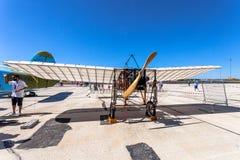 Vliegtuig Blériot XI Stock Fotografie