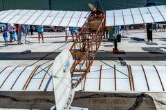 Vliegtuig Blériot XI Royalty-vrije Stock Afbeeldingen