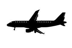 Vliegtuig clipart Stock Foto's