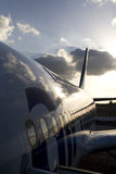 Vliegtuig in Cuba Royalty-vrije Stock Afbeelding