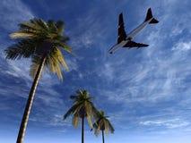 Vliegtuig dat 24 vliegt vector illustratie