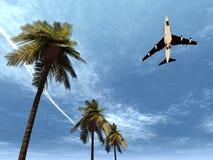 Vliegtuig dat 9 vliegt Royalty-vrije Stock Foto