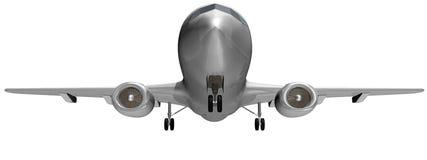 Vliegtuig dat - bodem van start gaat Stock Afbeelding
