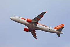 Vliegtuig dat weg ltaking Royalty-vrije Stock Afbeeldingen