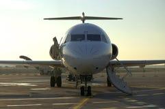 Vliegtuig et luchthaven 5 Stock Foto's