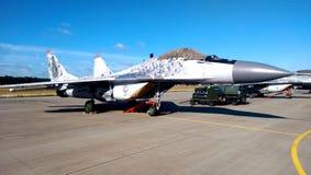 Vliegtuig f18 stock afbeeldingen