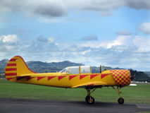 Vliegtuig Harvard Stock Foto's
