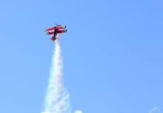 Vliegtuig het In de lucht van Airshow van Leesburg Royalty-vrije Stock Foto's