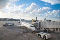 Vliegtuig het Inschepen Stock Foto's