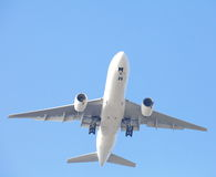 Vliegtuig het opstijgen Royalty-vrije Stock Afbeelding