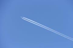 Vliegtuig met sleep Stock Foto's