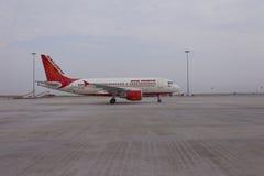 Vliegtuig op grond Royalty-vrije Stock Foto