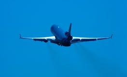 Vliegtuig op start Stock Fotografie