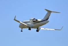 Vliegtuig, Privé straal Royalty-vrije Stock Foto's