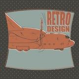 Vliegtuig vliegtuigen, luchtvaartlijn, vervoer, bommenwerper Royalty-vrije Stock Afbeelding