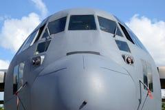 Vliegtuig, vooraanzicht Stock Fotografie