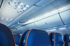 Vliegtuigbinnenland royalty-vrije stock foto's