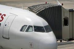 Vliegtuigcabine Royalty-vrije Stock Afbeeldingen