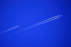 Vliegtuigen. Royalty-vrije Stock Afbeelding