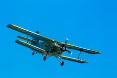 Vliegtuigen Antonov een-2 Stock Afbeelding
