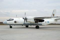 Vliegtuigen Antonov een-26 Royalty-vrije Stock Afbeelding