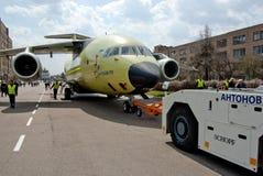 Vliegtuigen Antonov een-178 Stock Fotografie