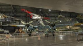 Vliegtuigen bij het de USAF-Museum, Dayton, Ohio Stock Afbeelding
