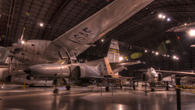 Vliegtuigen bij het de USAF-Museum, Dayton, Ohio Royalty-vrije Stock Afbeeldingen