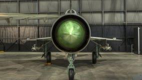 Vliegtuigen bij het de USAF-Museum, Dayton, Ohio Stock Afbeeldingen