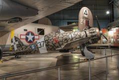 Vliegtuigen bij het de USAF-Museum, Dayton, Ohio royalty-vrije stock fotografie
