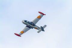Vliegtuigen Ha-200 Saeta Royalty-vrije Stock Foto's