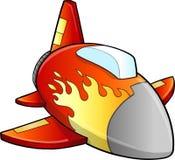 Vliegtuigen Jet Vector royalty-vrije illustratie