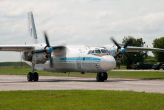 Vliegtuigen, licht vervoer Stock Foto's