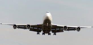 Vliegtuigen op def. Stock Foto