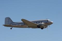 Vliegtuigen tijdens de vlucht Stock Afbeelding