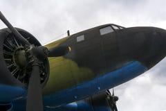 Vliegtuigen van Wereldoorlog II stock afbeeldingen