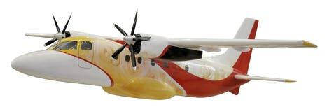 Vliegtuigen voor de burgerluchtvaartmodel Stock Afbeelding
