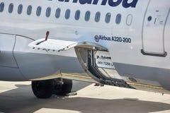 Vliegtuigengrond Behandeling Royalty-vrije Stock Foto's
