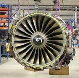 vliegtuigenmotor Stock Afbeelding